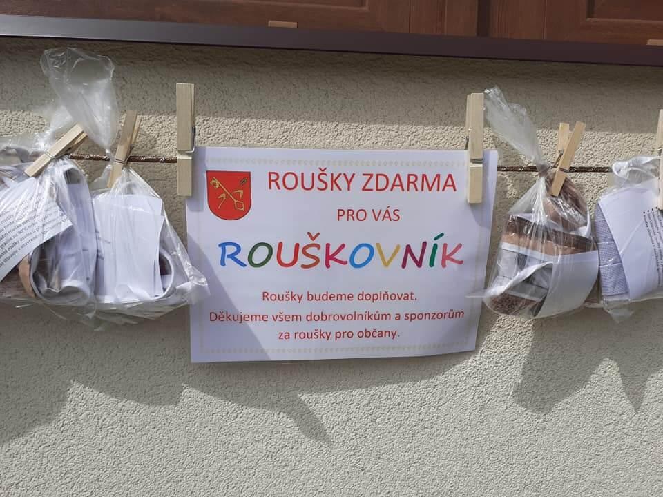 Rouškovník. Zdroj: Facebook Jesenice u Prahy