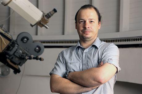 Michal Švanda. Zdroj: Astronomický ústav AV ČR